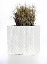 Casa Mina Polyrattan Blumenkübel Übertöpfe