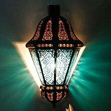 Casa Moro marokkanische Wandlampe Beluti Blau
