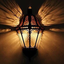 Casa Moro marokkanische Wandlampe Beluti Weiss