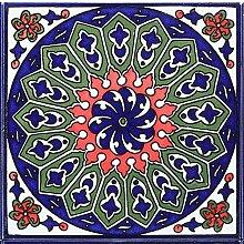 Sch/öne Wandfliese im Bad Flur /& K/üche Casa Moro Orientalische Fliesen-Bord/üre Kenitra 50x25 cm aus Marokko mit Mosaik-Muster FL7286