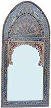 Casa Moro Orientalischer Spiegel Wandspiegel Sharif Blau