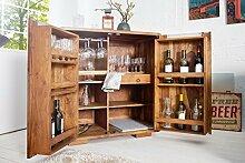 Casa Padrino Bar Wein Schrank 90 x 50 x H100 cm -