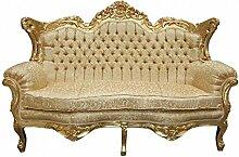 Casa Padrino Barock 2er Sofa Master Gold
