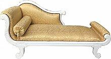 Casa Padrino Barock Chaiselongue Modell XXL Gold