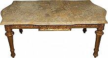 Casa Padrino Barock Couchtisch Gold mit
