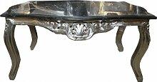 Casa Padrino Barock Couchtisch Silber mit