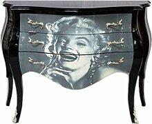 Casa Padrino Barock Kommode Marilyn Monroe 120cm -