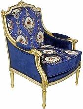 Casa Padrino Barock Lounge Thron Sessel mit