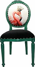 Casa Padrino Barock Luxus Esszimmer Stuhl ohne