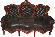 Casa Padrino Barock Sofa Garnitur 'King'
