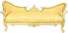 Casa Padrino Barock Sofa Garnitur Vampire Gold