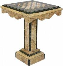 Casa Padrino Barock Spieltisch Schach/Dame Tisch