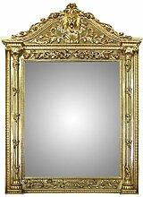Casa Padrino Barock Wandspiegel Gold 130 x H. 210 cm - Hotel Möbel Spiegel