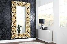 Casa Padrino Barock Wandspiegel Gold 180 x 90 cm -