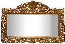 Casa Padrino Barock Wandspiegel Gold 290 x H. 160