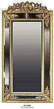 Casa Padrino Barock Wandspiegel Gold H 183 cm B