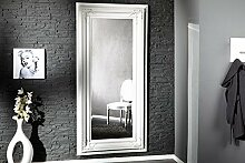 Casa Padrino Barock Wandspiegel Weiß Höhe 180