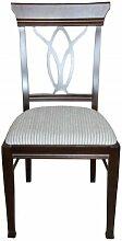 Casa Padrino Biedermeier Esszimmer Stuhl ohne