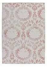 Casa Padrino Design Teppich Alt Rosa - Designer