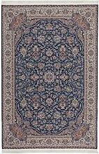 Casa Padrino Design Teppich Blau - Designer