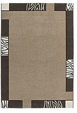Casa Padrino Design Teppich Braun - Designer