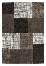 Casa Padrino Design Teppich Braun - Designer Teppich, Grösse:80 x 150 cm