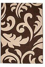 Casa Padrino Design Teppich Mocca - Designer