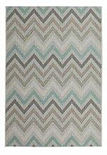 Casa Padrino Design Teppich Pastell Grün -