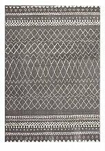 Casa Padrino Design Teppich Silber - Designer