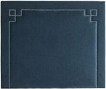 Casa Padrino Designer Bett-Kopfteil Blau 180 x H.