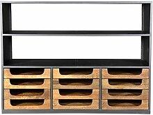 Casa Padrino Designer Buffetschrank mit Schubladen