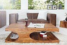 Casa Padrino Designer Massivholz Couchtisch Natur