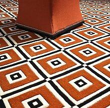 Casa Padrino Designer Teppich aus Neuseeland Wolle