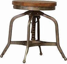 Casa Padrino Designer Vintage Industrial Hocker Mod3 - Sitzhocker Industrie Design