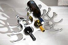 Casa Padrino Designer Weinregal für 10 Flaschen