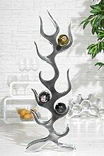 Casa Padrino Designer Weinregal für 9 Flaschen