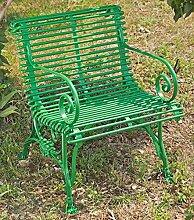 Casa Padrino Gartenstuhl aus Schmiedeeisen mit