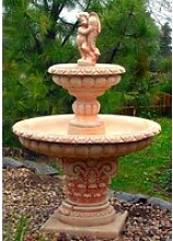 Casa Padrino Jugendstil Gartenbrunnen Junge mit
