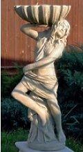 Casa Padrino Jugendstil Gartendeko Statue Mädchen