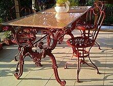 Casa Padrino Jugendstil Gartenmöbel Set - 1 Tisch