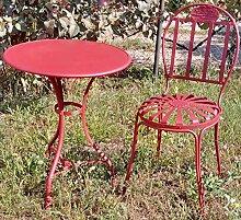 Casa Padrino Jugendstil Gartenmöbel Set
