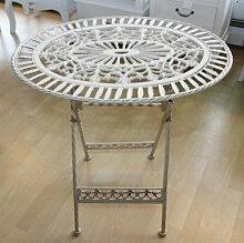 Casa Padrino Jugendstil Gartenmöbel Tisch