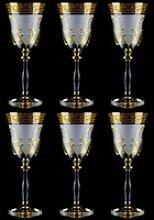 Casa Padrino Luxus Barock Likörglas 6er Set Weiß