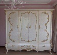 Casa Padrino Luxus Barock Schlafzimmerschrank