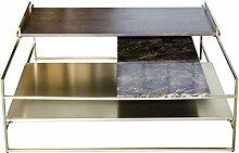 Casa Padrino Luxus Couchtisch Gold 100 x 100 x H.