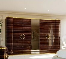 Casa Padrino Luxus Designer Schlafzimmerschrank