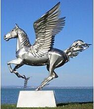 Casa Padrino Luxus Gartendeko Skulptur Pegasus