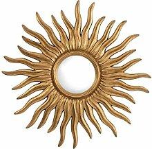Casa Padrino Luxus Konvexspiegel Antik Gold Ø 112