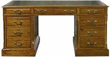 Casa Padrino Luxus Schreibtisch mit Tür und 6