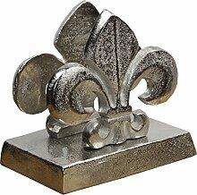 Casa Padrino Luxus Serviettenhalter in Silber,